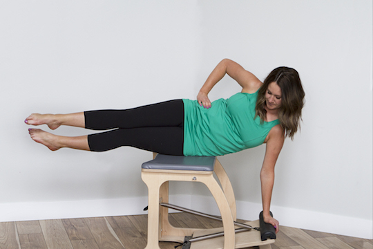 pilates during pregnancy with maternity activewear